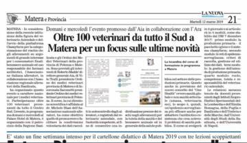 Rassegna Stampa 2019